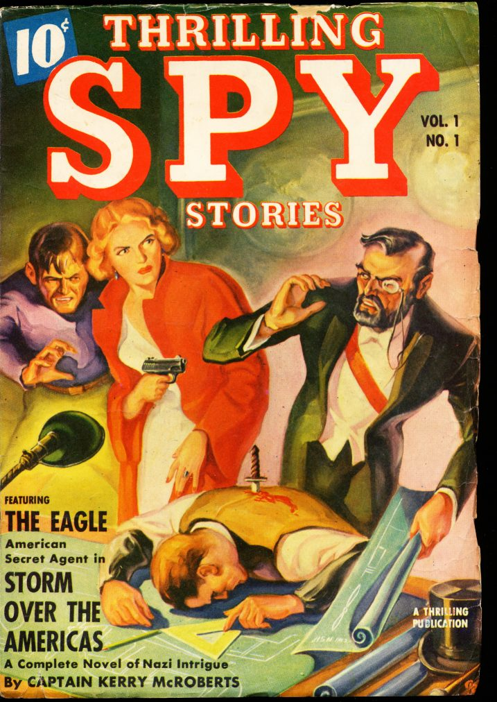 THRILLING SPY STORIES - FALL/39 - FN - ID #: 10-98982