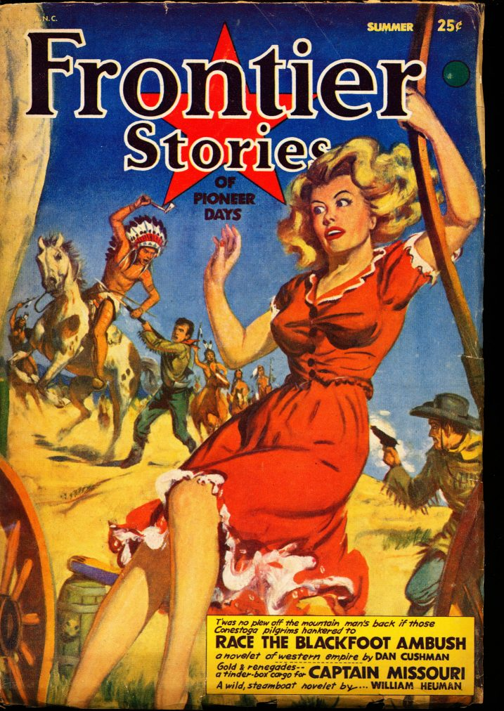 FRONTIER STORIES - SUMMER/53 - G-VG - ID #: 10-98995