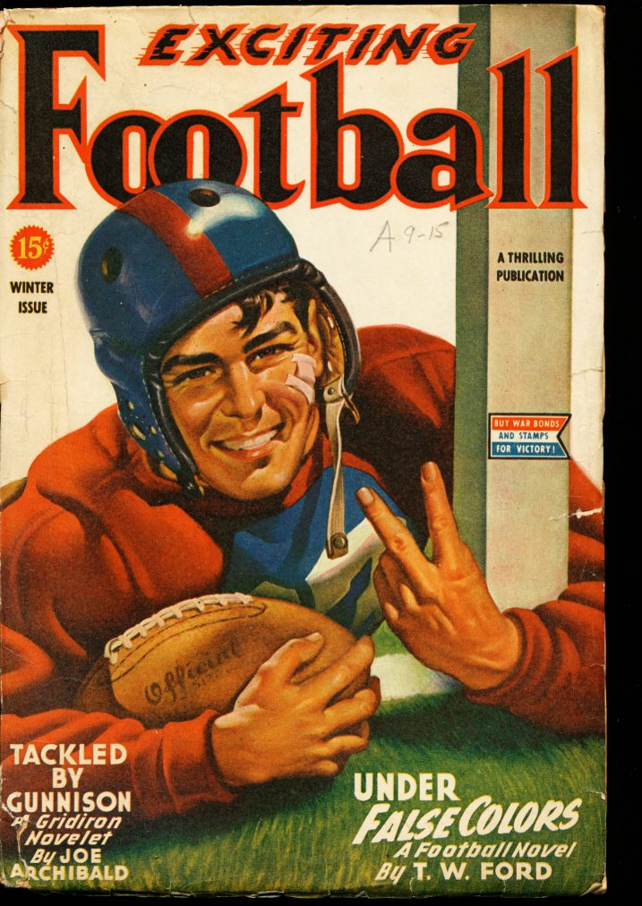 EXCITING FOOTBALL - WINTER/45 - VG - ID #: 10-99002