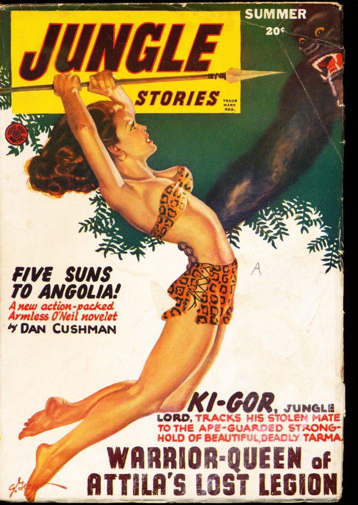 JUNGLE STORIES - SUMMER/47 - VG-FN - ID #: 10-99005