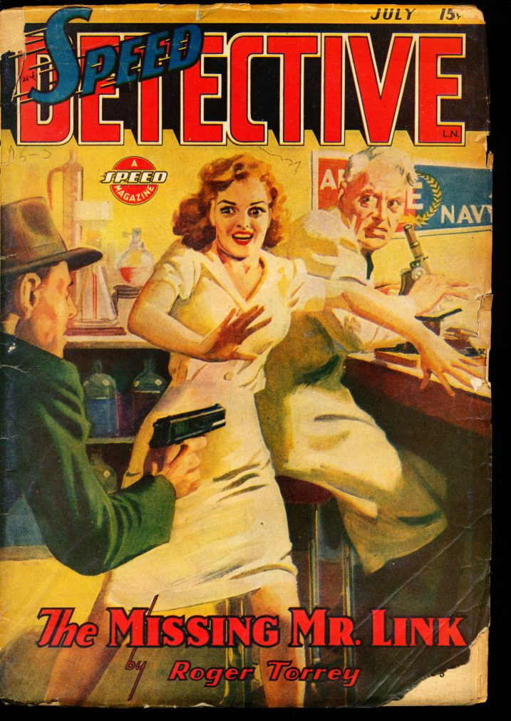 SPEED DETECTIVE - 07/44 - G-VG - ID #: 10-99006