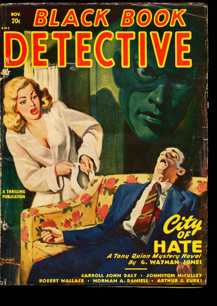 BLACK BOOK DETECTIVE - 11/48 - VG-FN - ID #: 10-99016