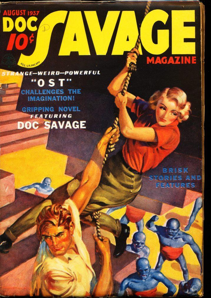 DOC SAVAGE MAGAZINE - 08/37 - FN - ID #: 79-99089