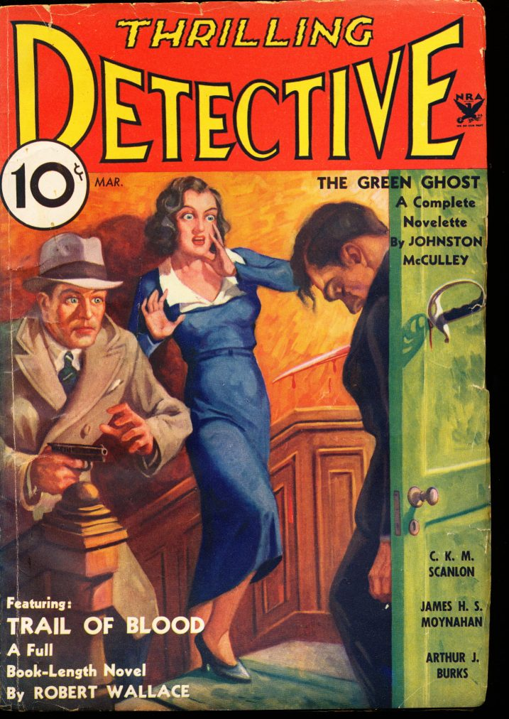 THRILLING DETECTIVE - 03/34 - VG - ID #: 80-99267