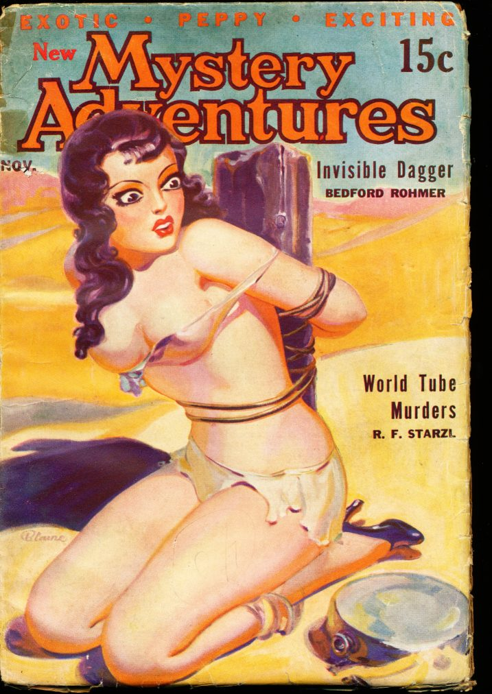 NEW MYSTERY ADVENTURES - 11/35 - G-VG - ID #: 80-99269