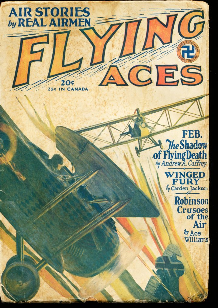 FLYING ACES - 02/29 - G-VG - ID #: 80-99271