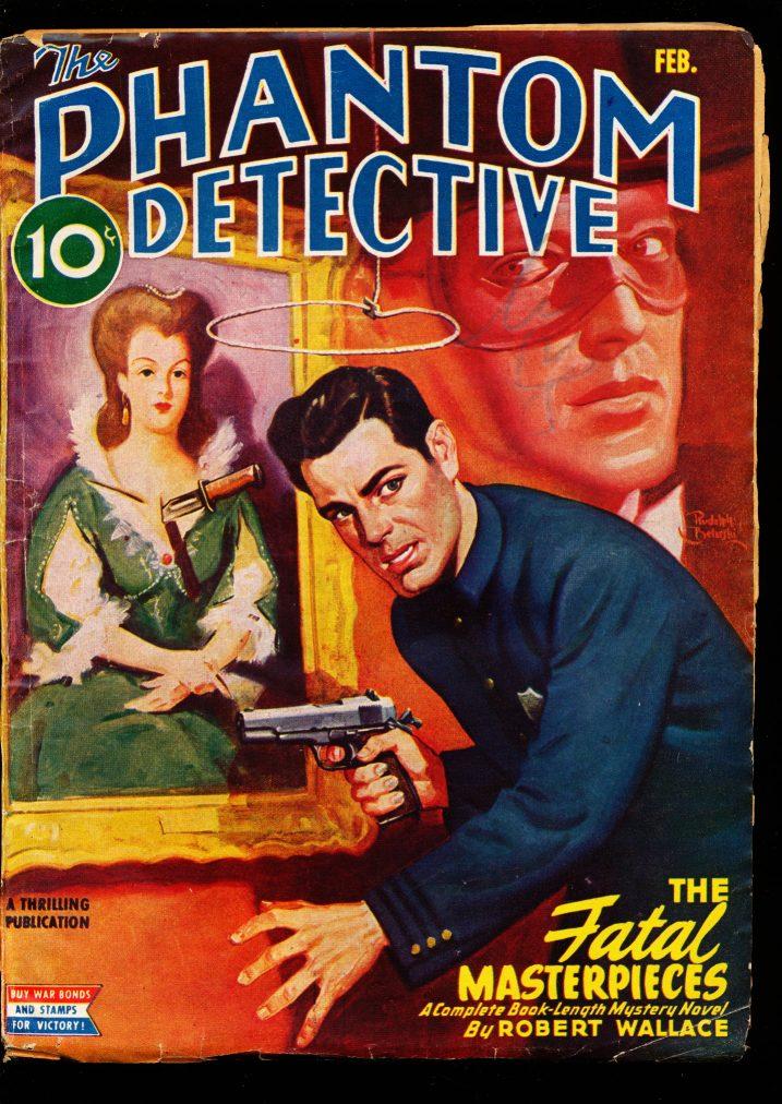 PHANTOM DETECTIVE - 02/45 - VG - ID #: 80-99280