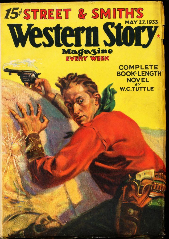 WESTERN STORY MAGAZINE - 05/27/33 - FN - ID #: 80-99282