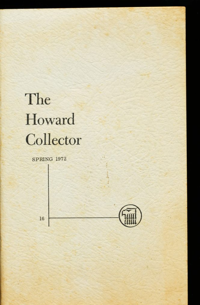 Howard Collector - #16 - Robert E. Howard - VG