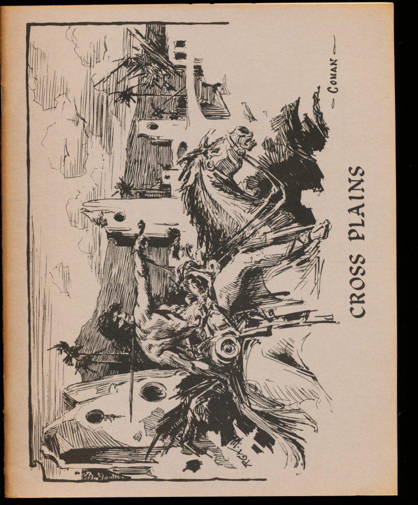 Cross Plains - #1 - Robert E. Howard - VG-FN