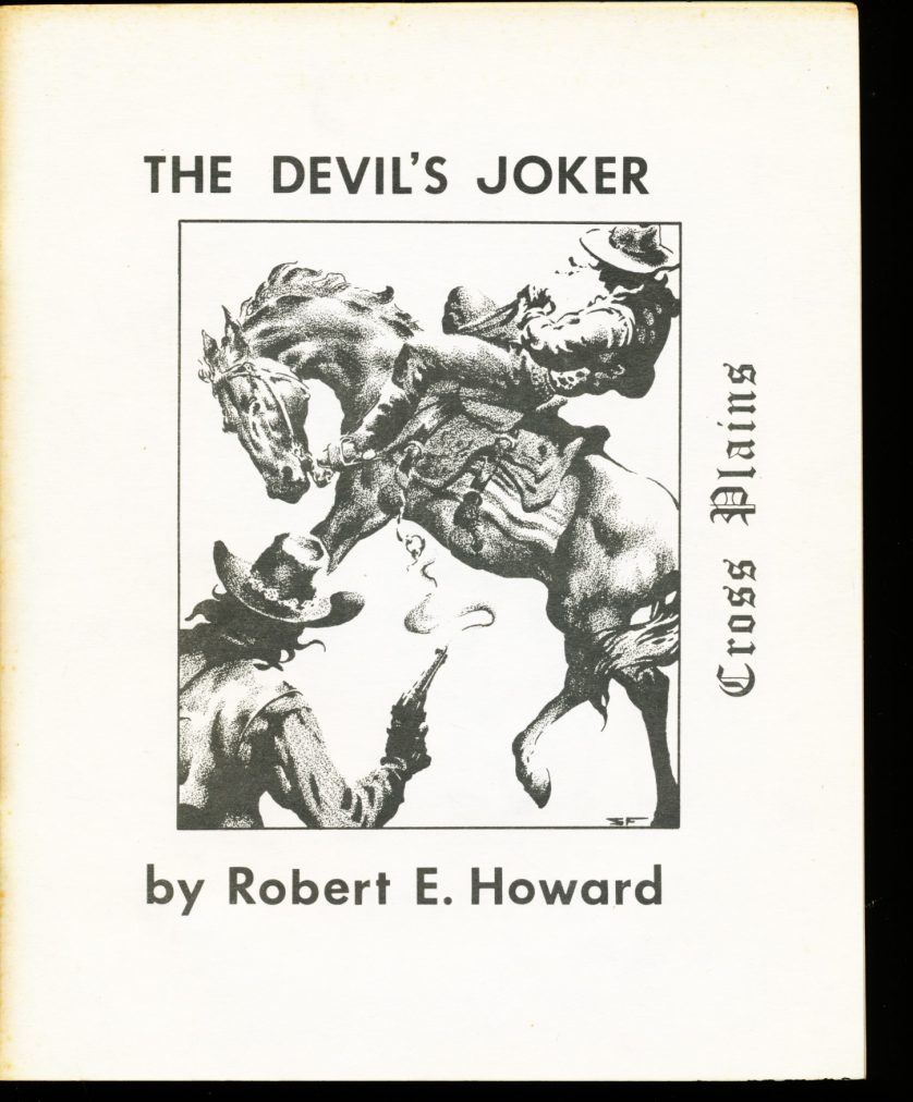 Cross Plains - #6 - Robert E. Howard - VG-FN