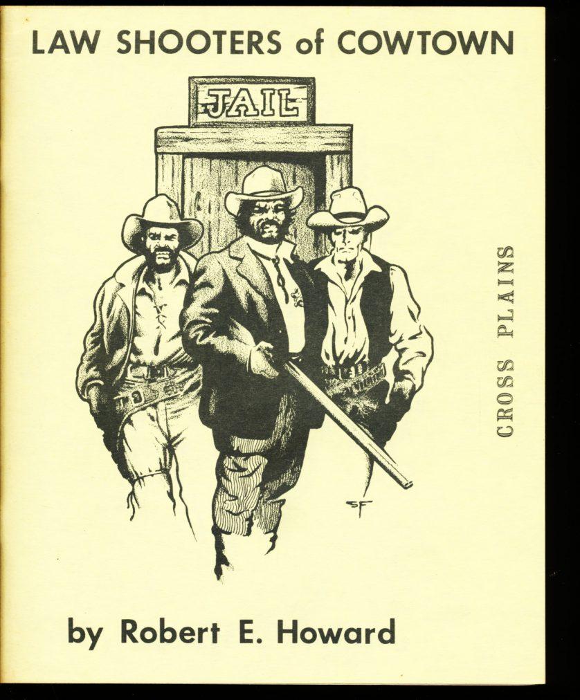 Cross Plains - #4 - Robert E. Howard - VG-FN