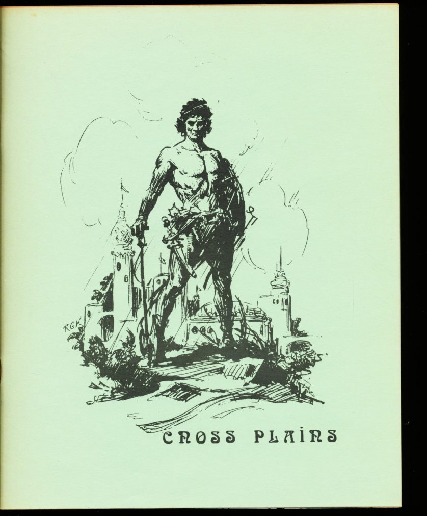 Cross Plains - #3 - Robert E. Howard - FN