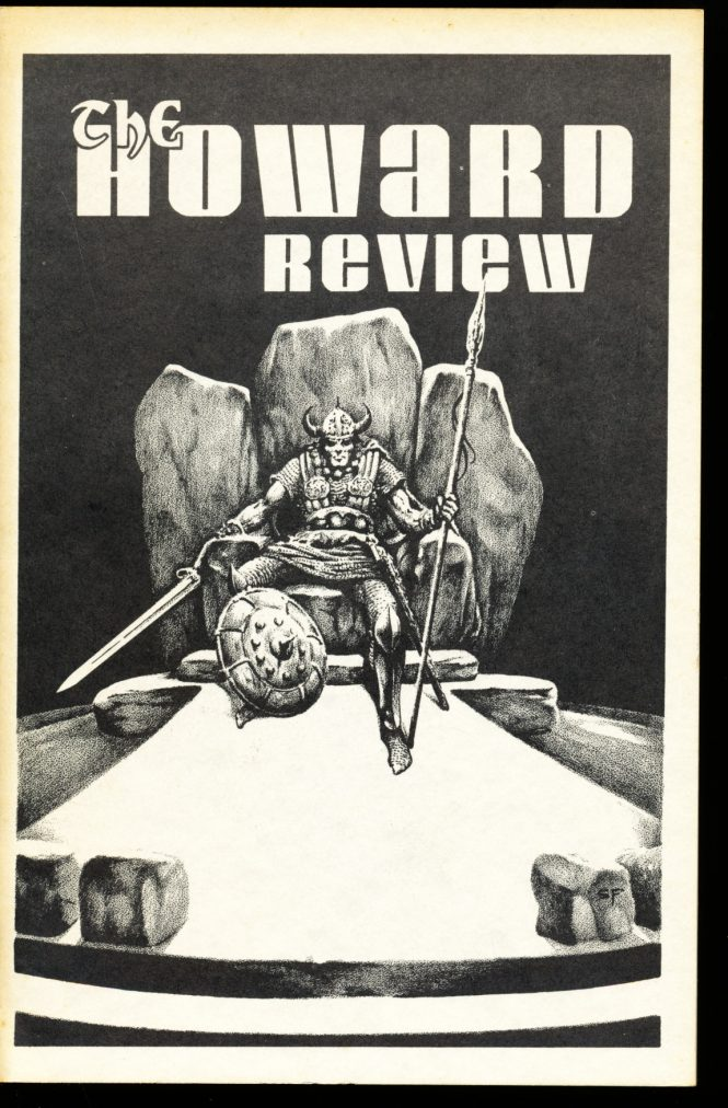 Howard Review, The [2nd Edition] - 10/75 - Robert E. Howard - VG-FN
