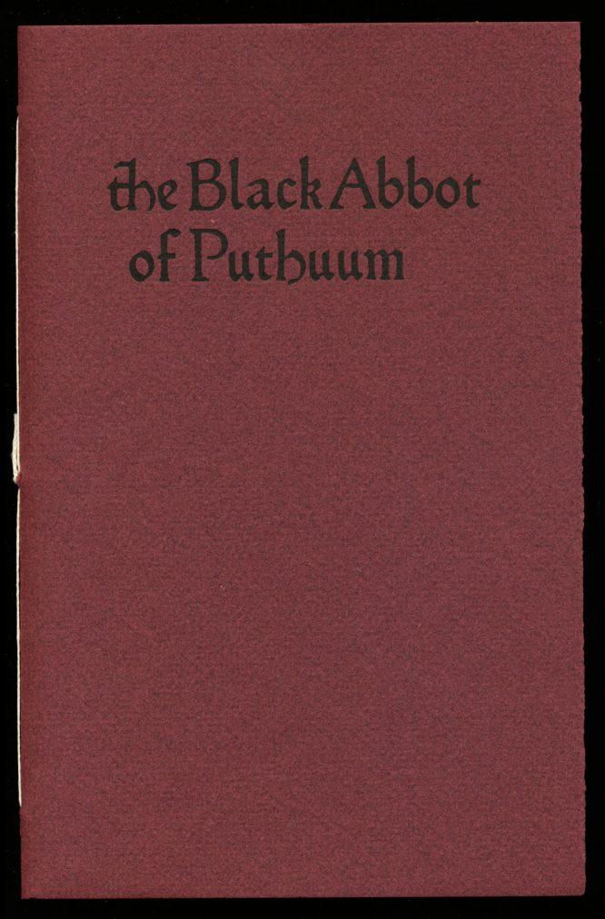 Black Abbot of Puthuum, The - /07 - Clark Ashton Smith - FN - 78-20919