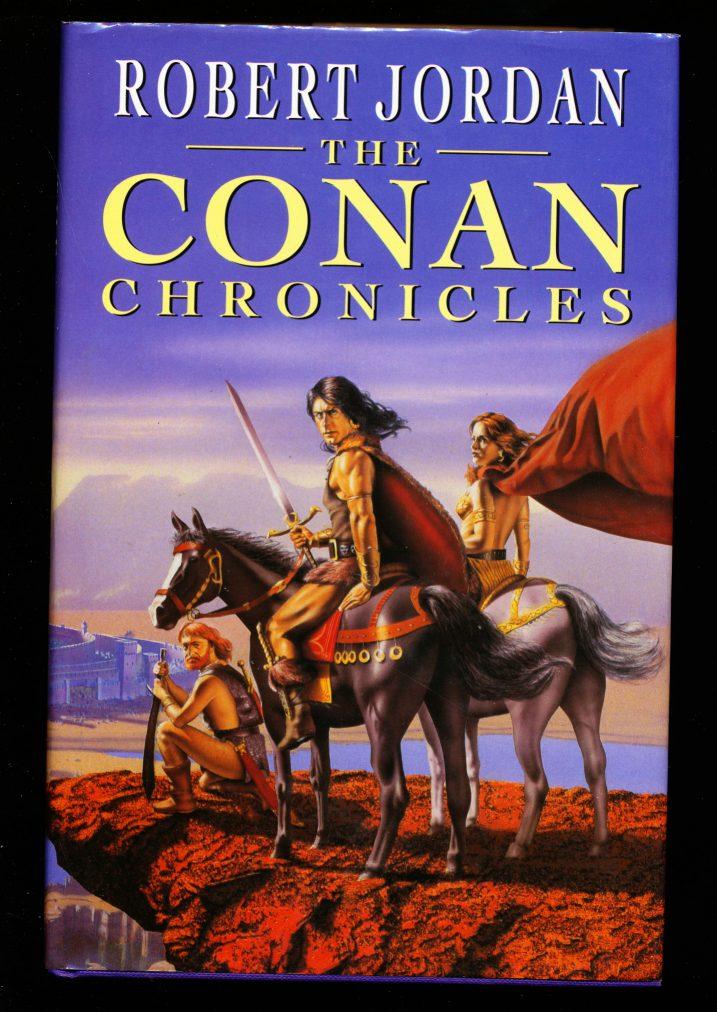 Conan Chronicles, The [British Edition] -  /96 - Robert Jordan - VG-FN - 78-21115