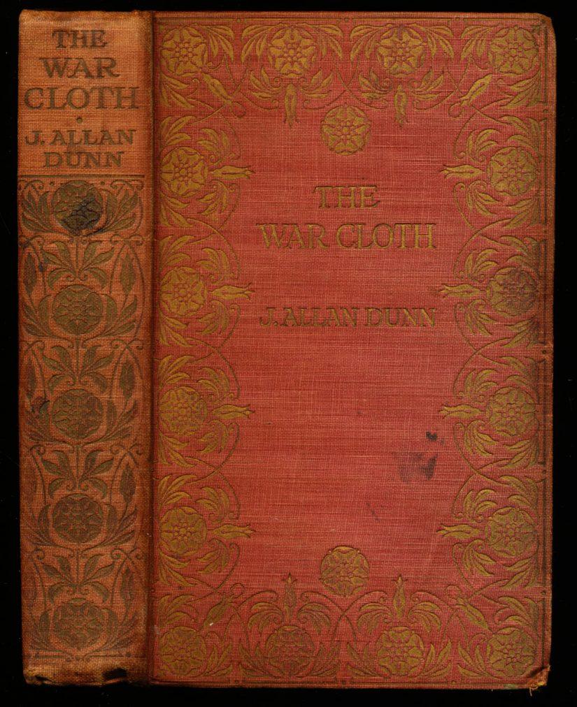 War Cloth, The -  /  - J. Allan Dunn - G-VG - 78-21117