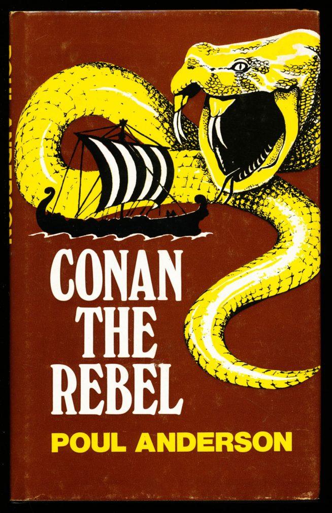 Conan The Rebel -  /84 - Poul Anderson - G-VG - 78-21121
