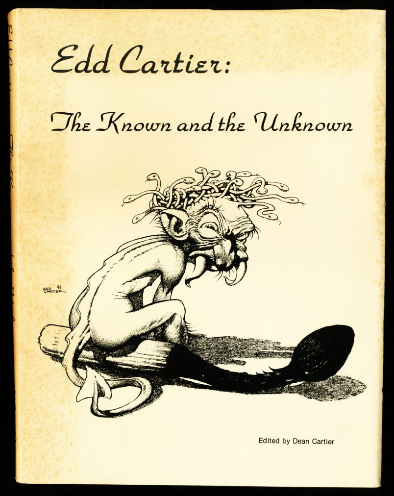 Edd Cartier: The Known and the Unknown -  /77 - Edited: Dean Cartier - G-VG - 78-21122