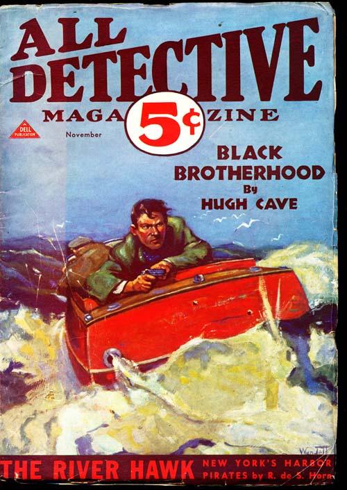 All Detective Magazine - 11/32 - VGOOD - ID#: 80-94311