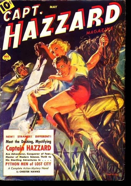 Captain Hazzard Magazine - 05/38 - NFINE - ID#: 80-94518
