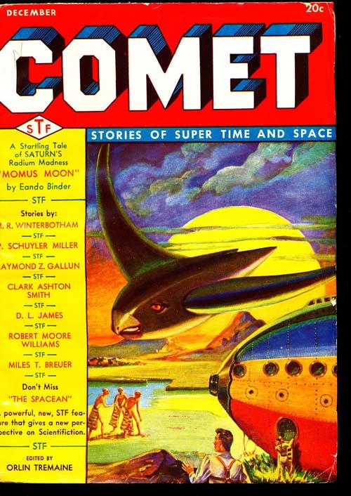 Comet - 12/40 - FINE + - ID#: 80-94592