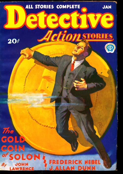 Detective Action Stories - 01/32 - VGOOD + - ID#: 80-94693