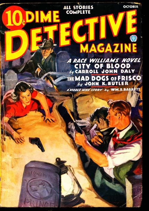 Dime Detective Magazine - 10/36 - VGOOD - ID#: 80-94825