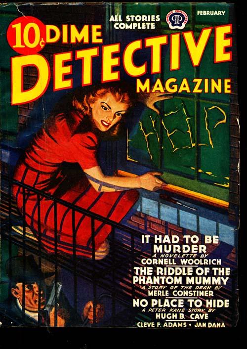 Dime Detective Magazine - 02/42 - FINE + - ID#: 80-94842