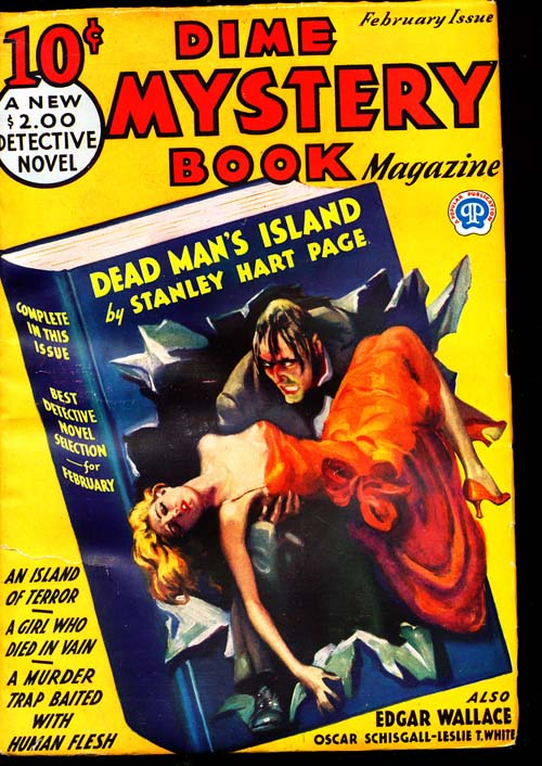 Dime Mystery Book Magazine - 02/33 - FINE + - ID#: 80-94849