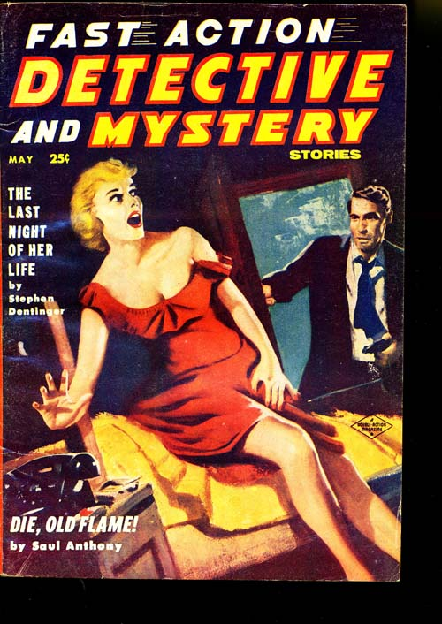 Fast Action Detective And Mystery - 05/57 - VGOOD + - ID#: 80-95288