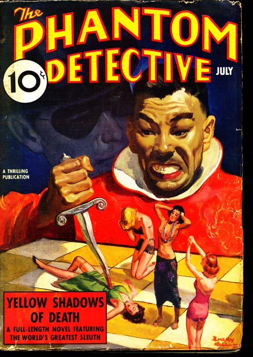 Phantom Detective - 07/38 - VGOOD - ID#: 80-95978