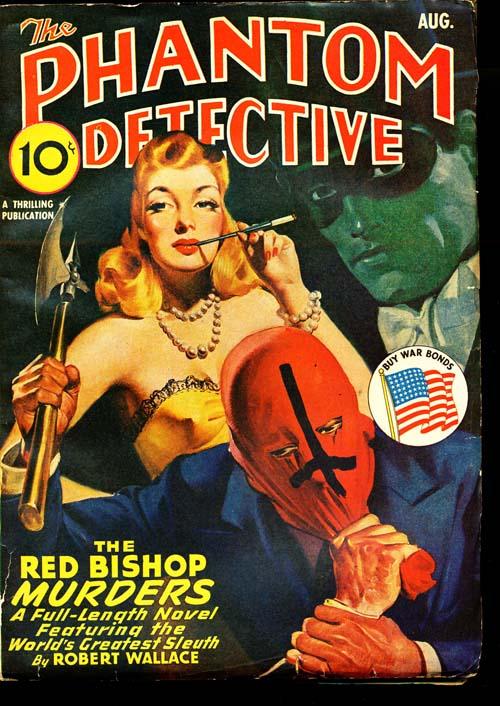 Phantom Detective - 08/43 - VGOOD - ID#: 80-96006
