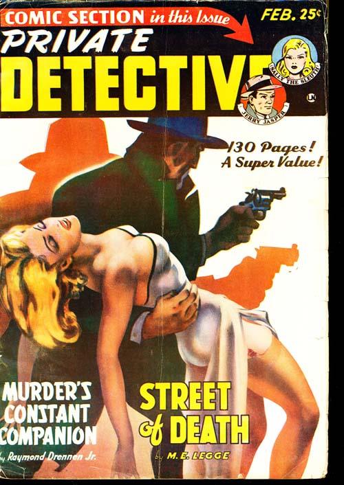 Private Detective - 02/50 - FINE + - ID#: 80-96061