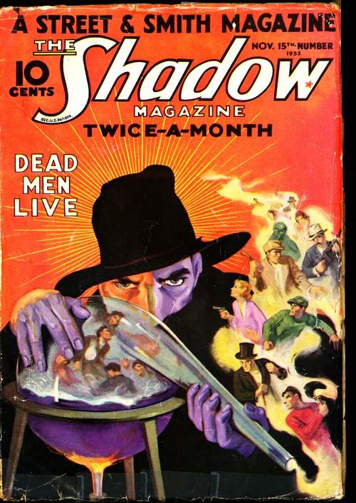 Shadow Magazine - 11/15/32 - VGOOD - ID#: 80-96244
