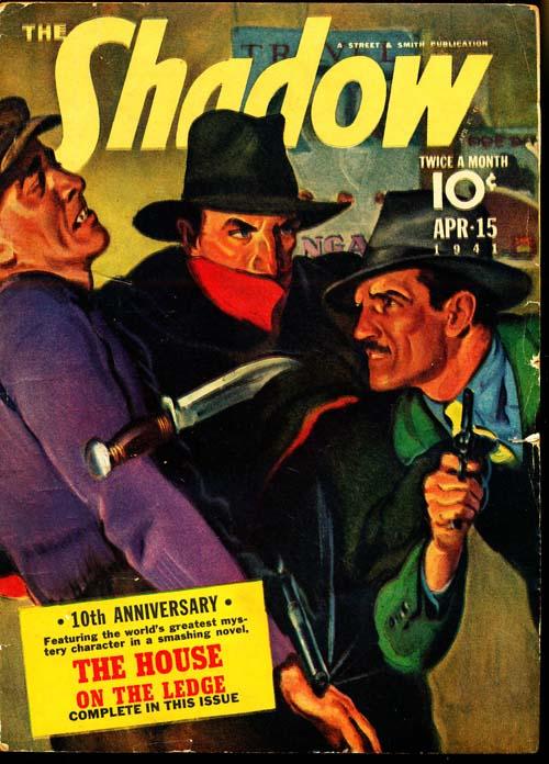 Shadow Magazine - 04/15/41 - VGOOD - ID#: 80-96346