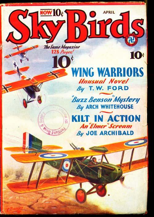 Sky Birds - 04/33 - VGOOD + - ID#: 80-96417