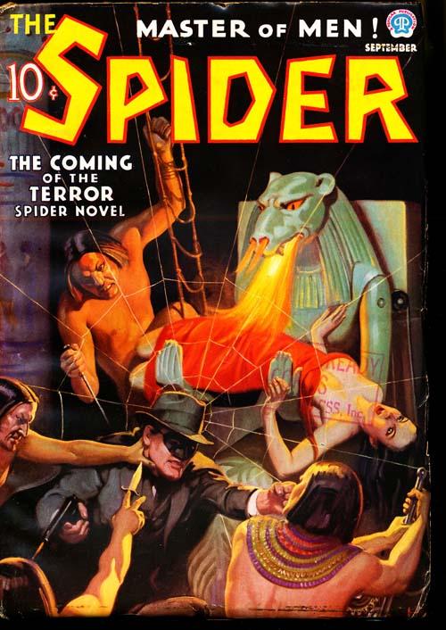 Spider, The - 09/36 - FINE + - ID#: 80-96619
