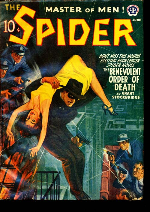 Spider, The - 06/41 - VGOOD + - ID#: 80-96676