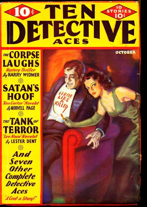 Ten Detective Aces - 10/33 - VGOOD - ID#: 80-96832