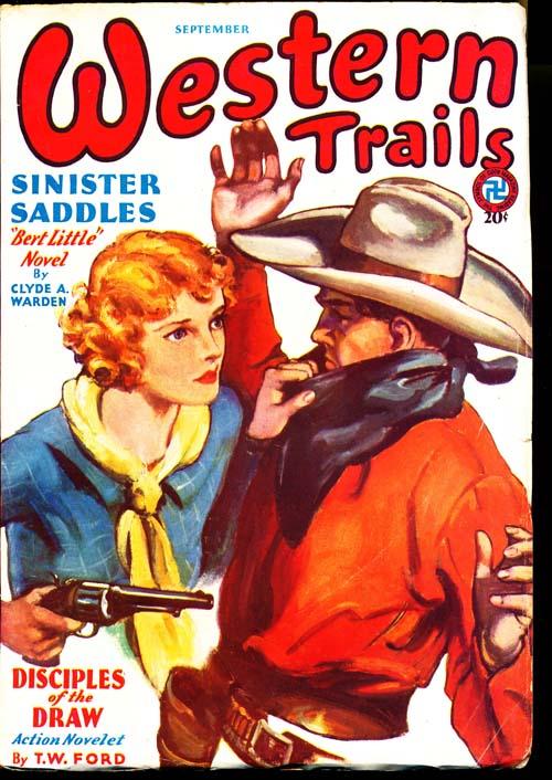 Western Trails - 09/32 - FINE + - ID#: 80-97181