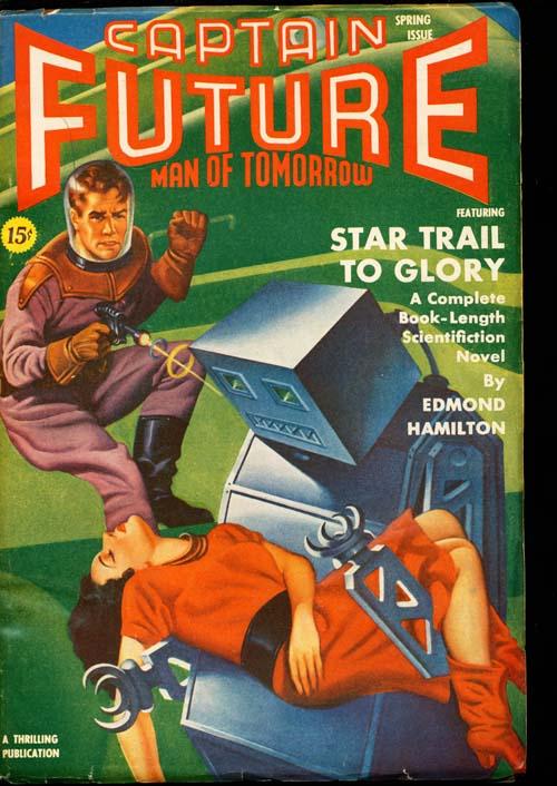 Captain Future - SPRING/41 - VFINE - ID#: 80-98705