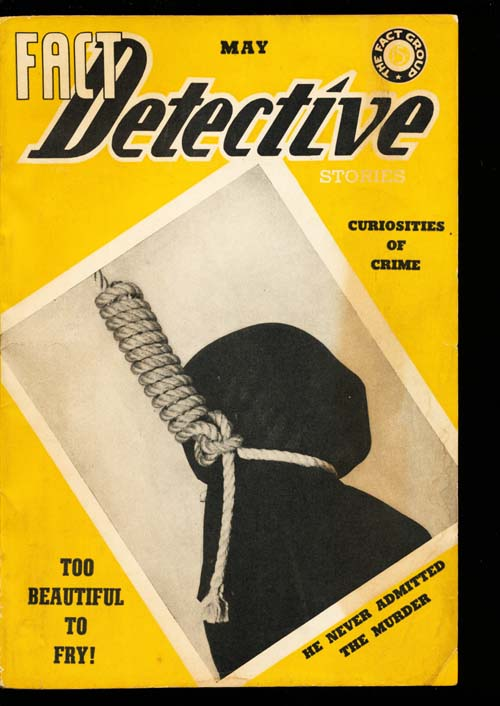 Fact Detective Stories - 05/39 - FINE + - ID#: 80-98847