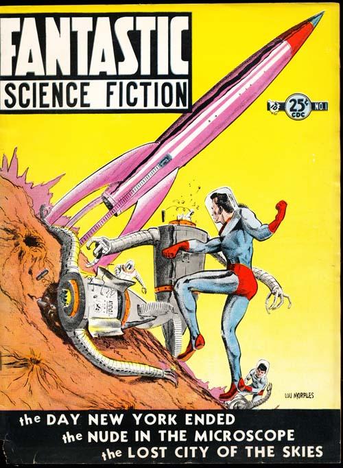 Fantastic Science Fiction - 08/52 - GOOD + - ID#: 80-98934