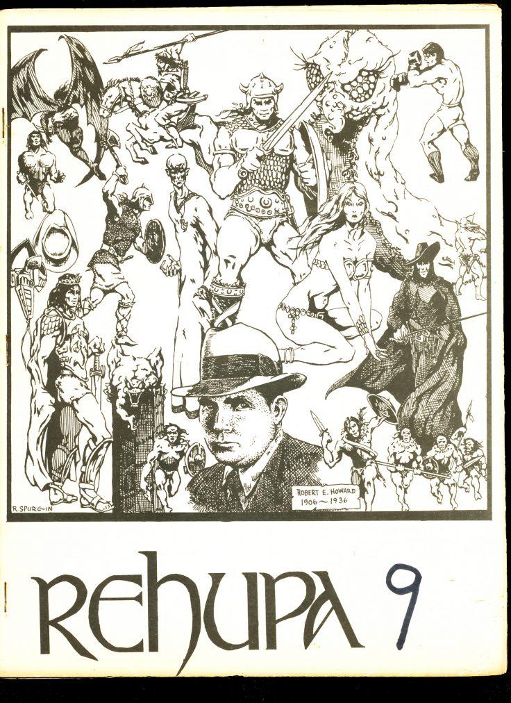 Rehupa #9 - 05/74 - VG - Howard Fanzine
