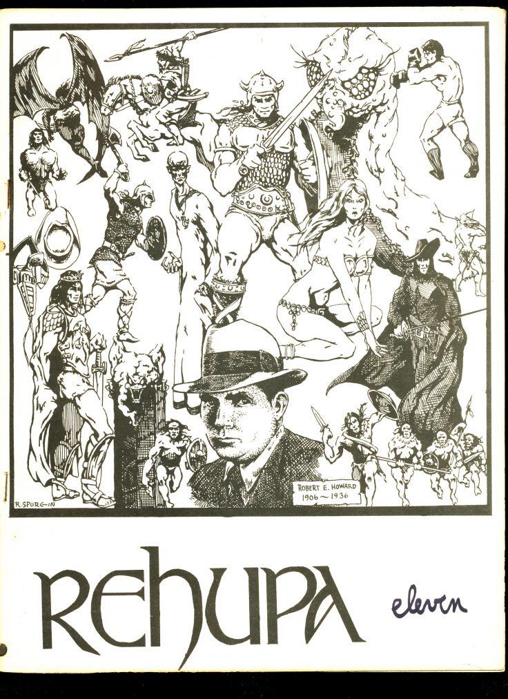 REHUPA 11 - 09/74 - VG - Robert E. Howard Fanzine