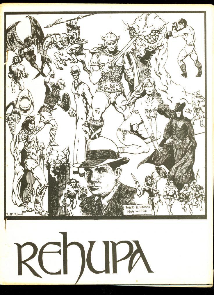 REHUPA #12 - 11/74 - VG - Robert E. Howard Fanzine