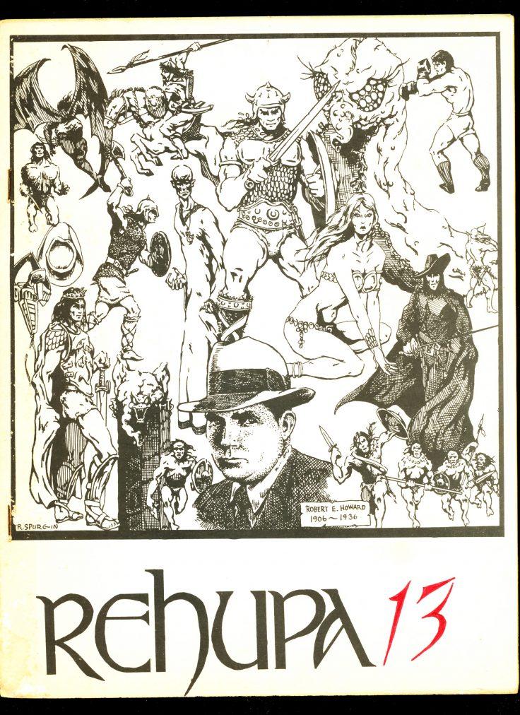 REHUPA #13 - 01/75 - VG - Robert E. Howard Fanzine