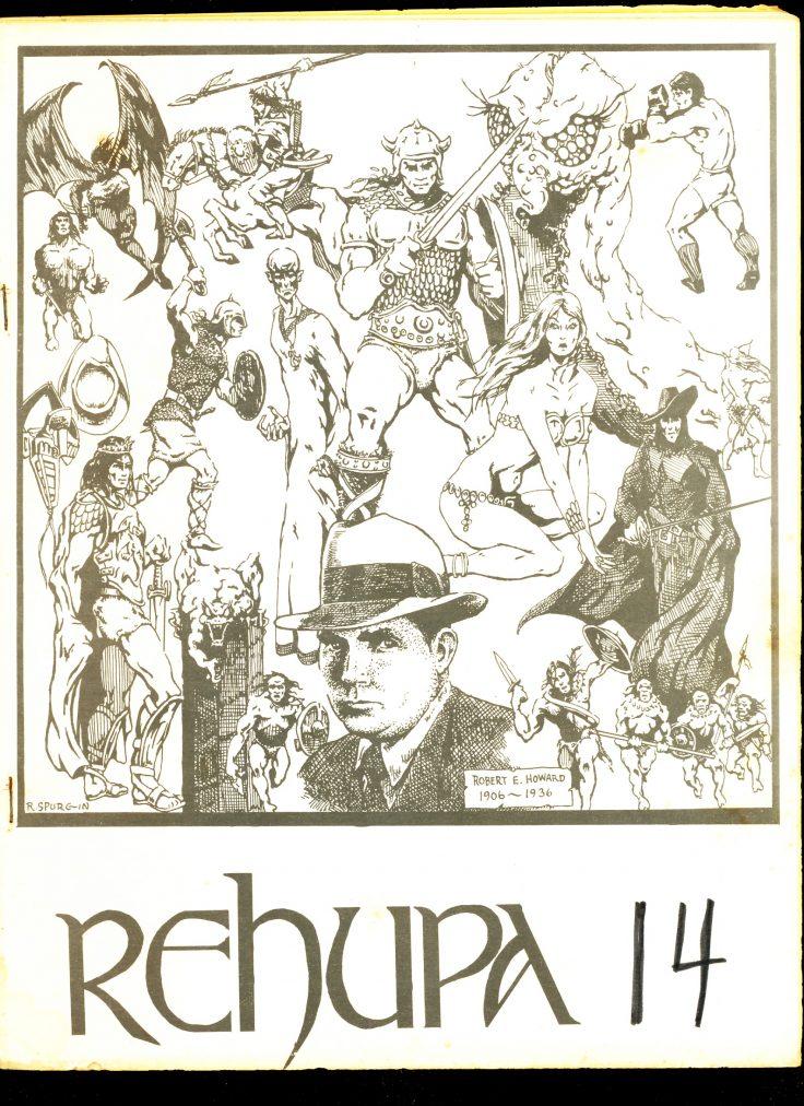REHUPA #14 - 03/75 - VG - Robert E. Howard Fanzine