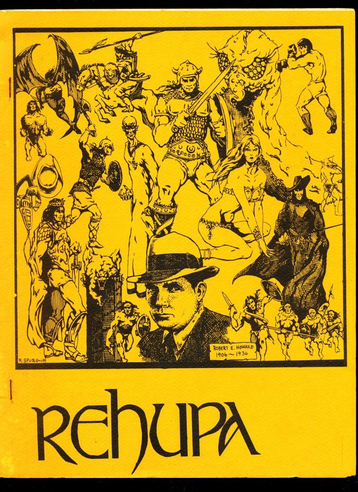 REHUPA #15 - 05/75 - VG - Robert E. Howard Fanzine
